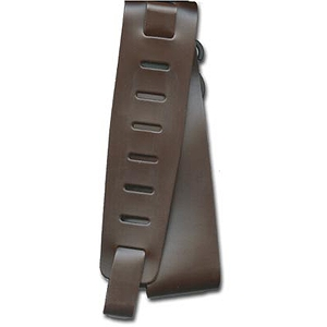 Planet Waves Classic Leather Guitar Strap - Brown