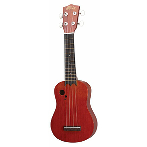 Hilo Deluxe Soprano Ukulele - Contemporary Design with Epaulette Soundholes