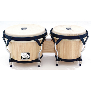 Toca 2700-SEN Player&#039;s Series Sheila E. Bongos - Natural