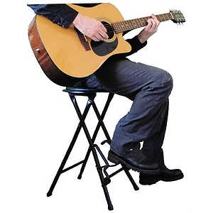 Farley&#039;s StagePlayer 2 Guitar Stand Stool with Foot Rest