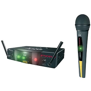 AKG Acoustics WMS40 FLEXX/40A Vocal Wireless System, with Handheld Transmitter, Frequency 40/A