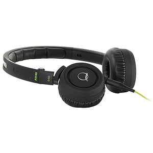 AKG Q460 (Black) Q460 Mini On Ear Headphones