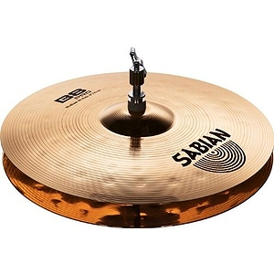"Sabian B8 Pro Medium Hat Cymbals, 14"" - Brilliant"