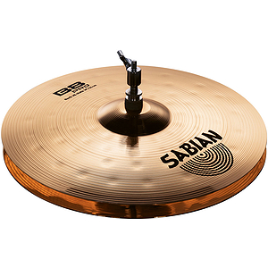 "Sabian B8 Pro Rock Hi-hats, 14"" - Brilliant"