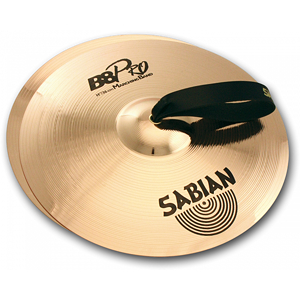"Sabian B8 Pro Marching Hand Cymbals (Pair), 16"" - Brilliant"