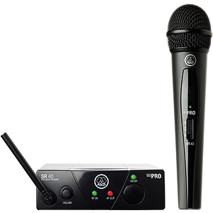 AKG WMS 40 Mini Vocal Set Handheld Wireless Microphone System  BAND 45C