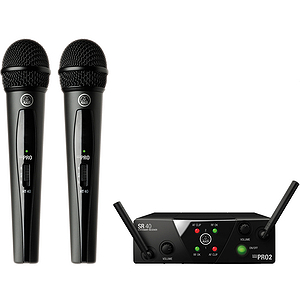 AKG WMS 40 Mini2 Vocal Set Dual Handheld Mic System