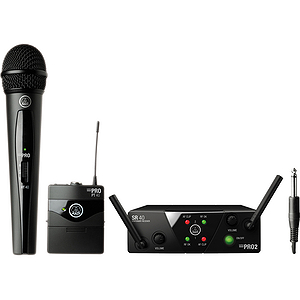 AKG WMS 40 Mini2 Vocal &amp; Instrumental Set Dual Wireless System