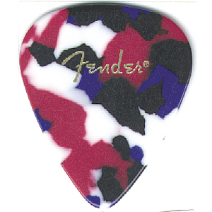 Fender® 351 Model Model Picks - Extra Heavy, Confetti - 144 picks