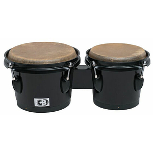 CB Drums Tunable Fiberglass Bongos - Black