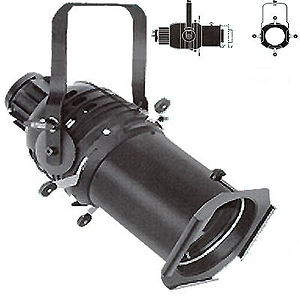 "Altman 360Q 6"" Ellipsoidal Spotlight, 6x12 model"
