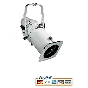 Altman 360Q Ellipsoidal Stage Light - White Finish, 6x12 model