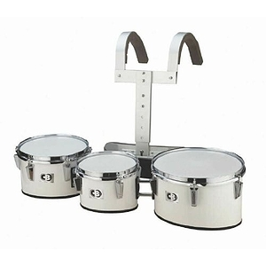 "CB Percussion Tournament Series 8"", 10"", 12"" Trio Marching Band Drums - 3712"