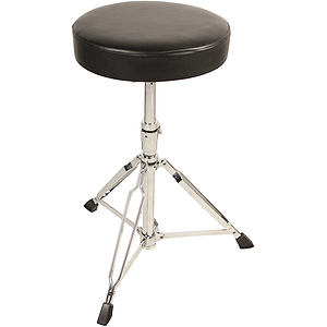 Percussion Plus Heavy-Duty Double-Braced Drum Throne