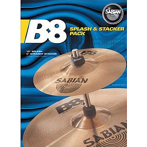 Sabian B8 Splash N Stacker Pack Set 10""