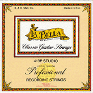 La Bella 413P Studio Recording Nylon Guitar Strings - 3 Sets
