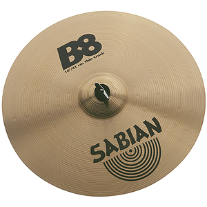 Sabian B8 Thin Crash Cymbal - 16-inch