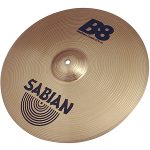 Sabian B8 Medium Crash Cymbal - 16-inch