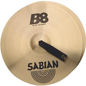 """Sabian B8 Band 16"""" Cymbals, Pair"""
