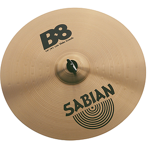 "Sabian 18"" B8 Thin Crash"
