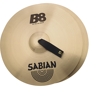 """Sabian B8 Band 18"""" Cymbals, Pair"""