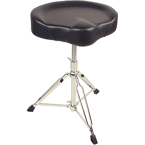 Percussion Plus Heavy-Duty Double-Braced Saddle Seat Drum Throne