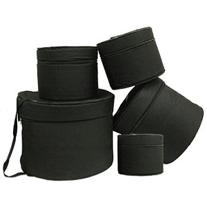 TKL Black Belt Drum Bags - 5-piece Set for Standard Drumset