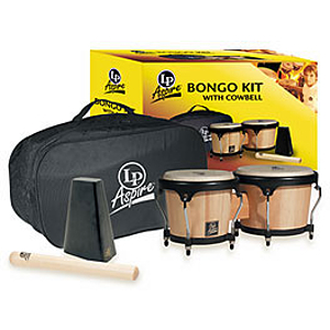 Latin Percussion Aspire Bongo Kit