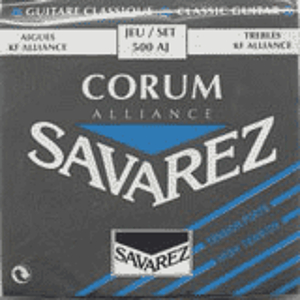 Savarez 500AJ Corum Classical Nylon Guitar Strings - High Tension, 3 Sets