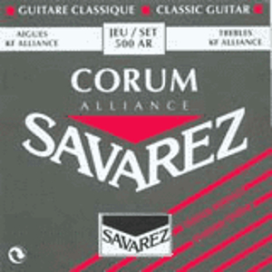 Savarez 500AR Corum Classical Nylon Guitar Strings - Standard tension, 3 Sets