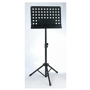 Belmonte 5052BK Double Lip Solid Desk Orchestra Music Stand