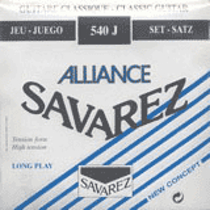 Savarez 540J Alliance Classical Nylon Guitar Strings - High Tension, 3 Sets