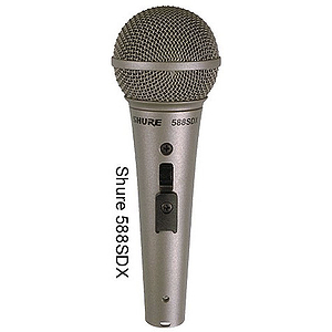 Shure 588SDX Dynamic Vocal Microphone