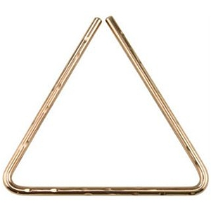 "Sabian Hand Hammered B8 Bronze Triangle, 10"""