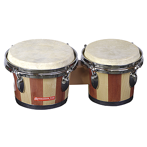 Percussion Plus Tunable Bongos - Natural Finish
