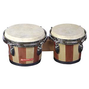 Percussion Plus Tunable Bongos - Natural Finish