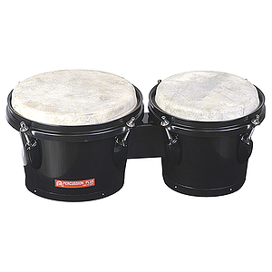 Percussion Plus Tunable Bongos - Black