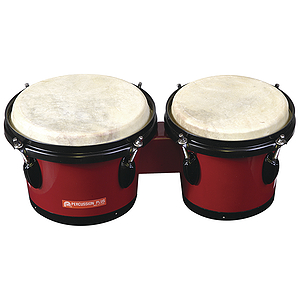 Percussion Plus Tunable Bongos - Red
