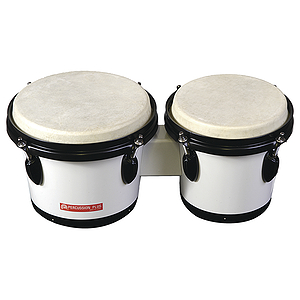 Percussion Plus Tunable Bongos - White
