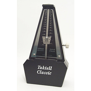 Wittner Plastic Case Metronome with Bell - Walnut