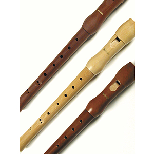 Hohner C-Soprano Wood Recorder - Pearwood