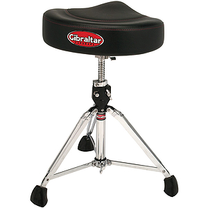 Gibraltar 96082T 2-Tone Saddle Throne - Black &amp; Black