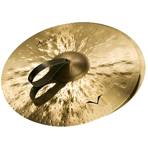 "Sabian Artisan Traditional Symphonic Hand Cymbals, 19"" Medium Light"