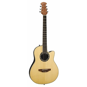 Applause AA13 Mini-Bowl 3/4 Size Steel String Acoustic Guitar - Natural