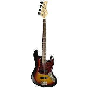 Arbor 4-String Electric Bass Guitar - Black