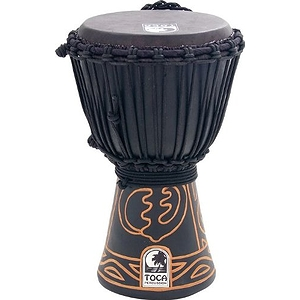 "Toca ABMD-8 Synergy Black Mamba 8"" African Djembe"