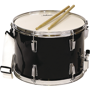 Adam Marching Snare Drum - Black