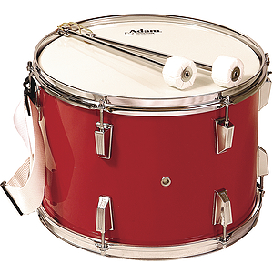 Adam Marching Tenor Drum - Red