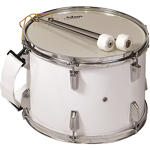 Adam Marching Tenor Drum - White