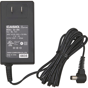 Casio AD-5 Keyboard AC Adapter